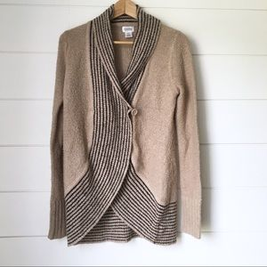 MOTHERHOOD MATERNITY Cocoon Front Button Cardigan